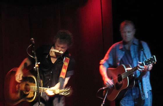 Steve Forbert and Clay Barnes