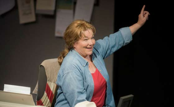 "Tina Packer in ""Red Hot Patriot: The Kick-Ass Wit of Molly Ivins"""
