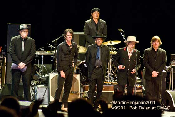 LIVE: Bob Dylan @ Constellation Brands-Marvin Sands Performing Arts Center, 8/9/11