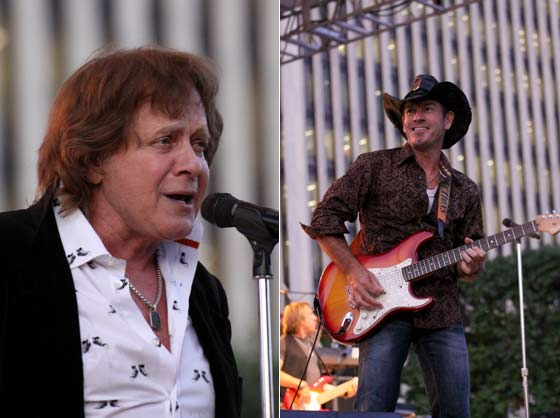 Eddie Money and Tommy Girvin