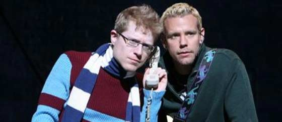 Anthony Rapp (left) and Adam Pascal