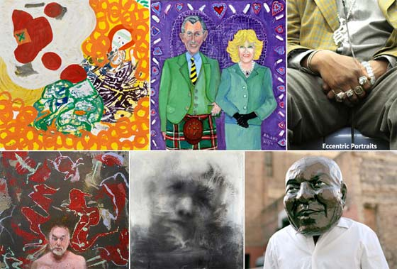 Eccentric Portraits @ Kleinert/James Center for the Arts