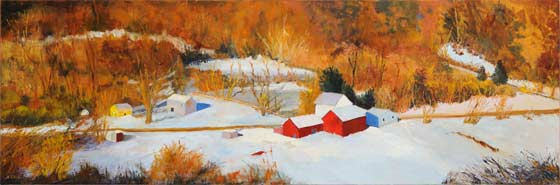 Marie Cole: First Snow In The Valley @ Tivoli Artists Coop