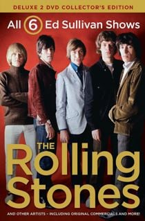 The Rolling Stones on the Ed Sullivan Show DVD Cover