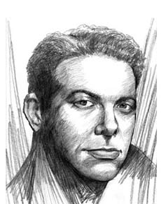 Michael Feinstein (drawing by Charles Haymes)