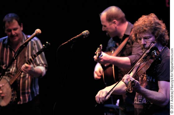Scott Vestal, Stephen Mougin and Sam Bush