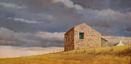 Hale Johnson: West Stonesdale Farm, North Yorkshire @ Harrison Gallery