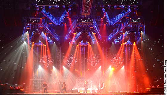 The Trans-Siberian Orchestra @ The Times Union Center (photo by Michael Seinberg)