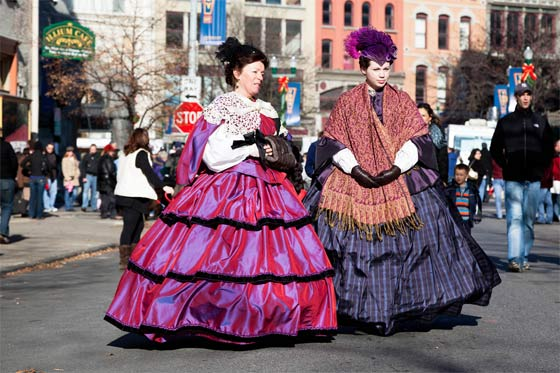Sebastien Barre: photos of the Troy Victorian Stroll