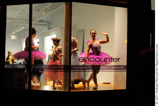 Window Ballerinas