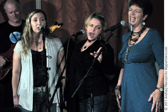 Marc Moss, Aly Paige, Kethleen Weber and Nancy Josephson of the Angel Band