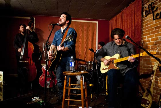 The Doug Kwartler Band @ Caffe Lena, Saratoga Springs. Photo by Joseph Deuel