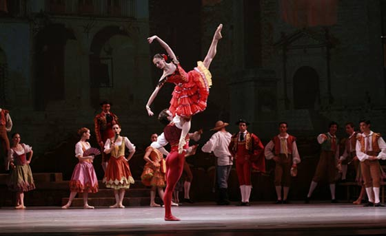 The Joffrey Ballet's Don Quixote (photo by Bob Nick)