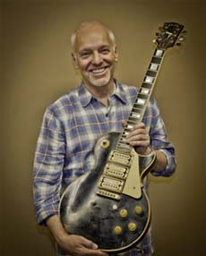 Peter Frampton and his long lost custom Les Paul
