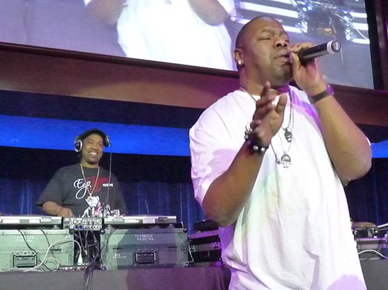 Cool V and Biz Markie