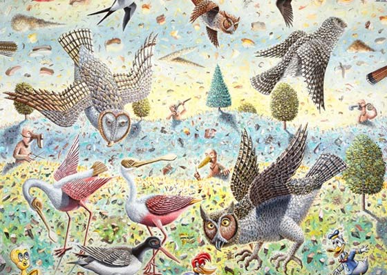 Morgan Bulkeley: Bird Story @ The Berkshire Museum
