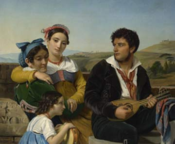 François-Joseph Navez: Musical Group @ The Clark