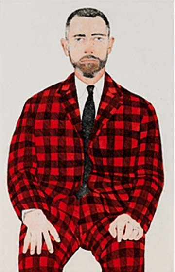 Beth Van Hoesen: Checkered Suit @ The Arkell Museum