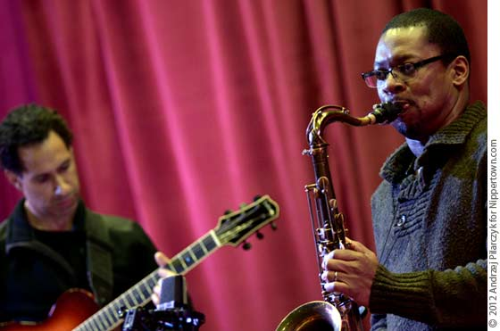 Dave Gilmore and Ravi Coltrane