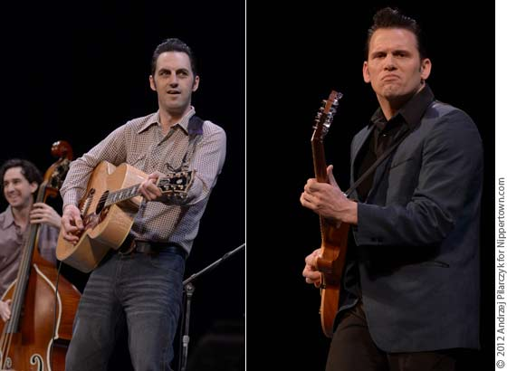 The cast of the The Million Dollar Quartet