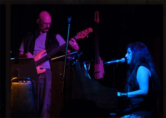 Tony Levin and Sarah Fimm