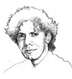Chick Corea (illustration by Charles Haymes)