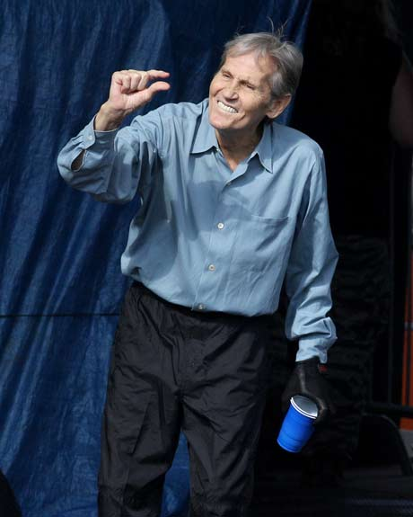 Levon Helm at Mountain Jam, Hunter Mountain, 2008
