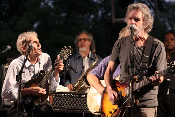 Levon Helm's Ramble On The Road, with Bob Weir, 2011