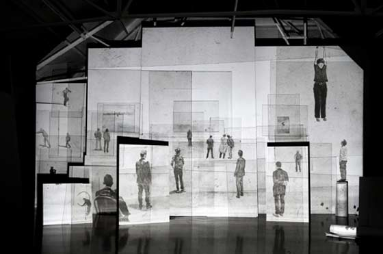 Making Room: The Space Between Two & Three Dimensions @ MASS MoCA