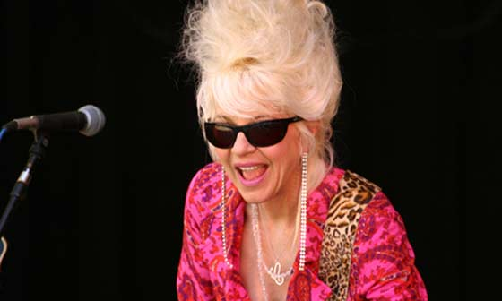 Christine Ohlman has performed with the SNL Band since 1991 but has always blazed her own trail.