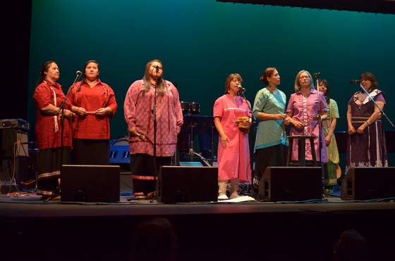 Ahkwasanse Women's Choir