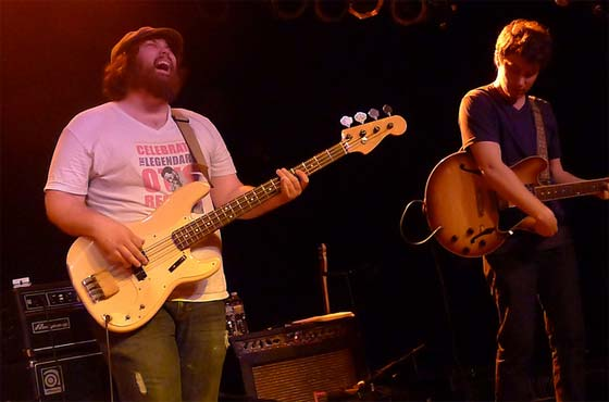 Alabama Shakes: (L to R) Zac Cockrell and Heath Fogg