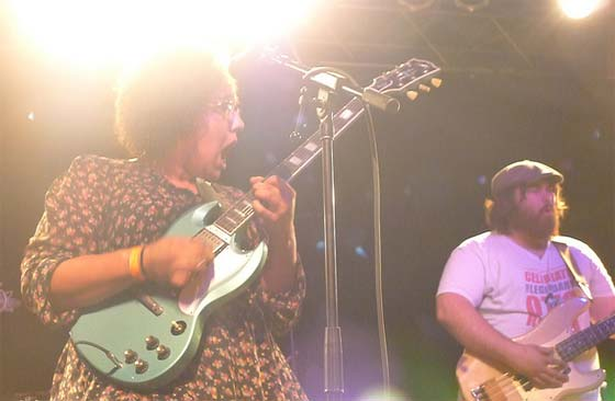 Alabama Shakes: Brittany Howard and Zac Cockrell