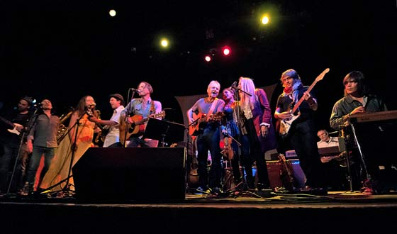 Mike Merenda, Doug Yoel, Ruthy, Mike, Simone Felice, Happy Traum, Simi Stone, Kate Taylor, Zach Gill, Donald Fagen and Larry Campbell