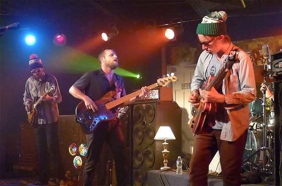 Dr. Dog: (L to R) Frank McElroy, Toby Leaman, Scott McMicken