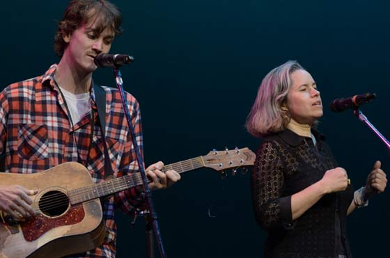 Ian Felice and Natalie Merchant (photo by Andrzej Pilarczyk)