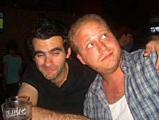 "Joe Iconis and Jason ""Sweet Tooth"" Williams."