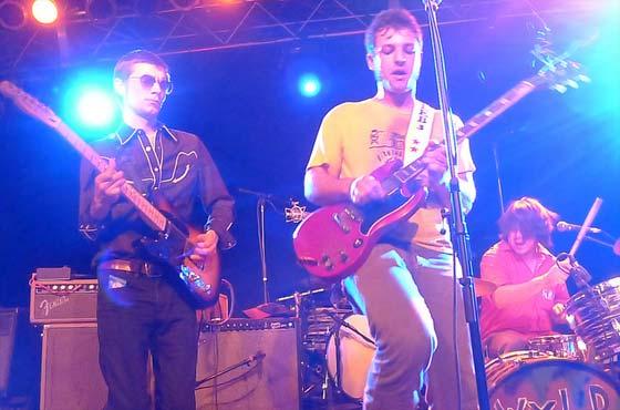 Lee Bains III & the Glory Fires: (L to R) Matt Wurtele, Lee Bains III, Blake Williamson