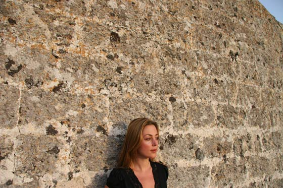 Composer Paola Prestini in Lecce at Sound Res. (photo by Erika Harrsch)
