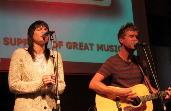 Aimee Driver and Danny Bemrose