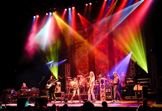 There are cover bands, there are tribute bands, and then there's Dark Star Orchestra. (photo by Peter Wochniak)