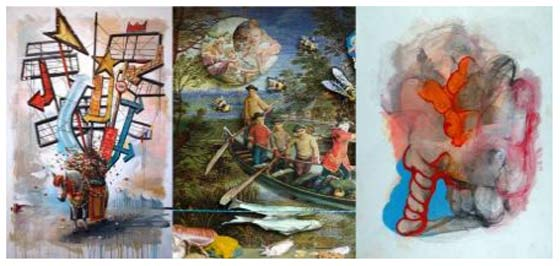 Works by Jake Messing,  Charles Steckler  and  Daniel Brody @ Saratoga Arts Center
