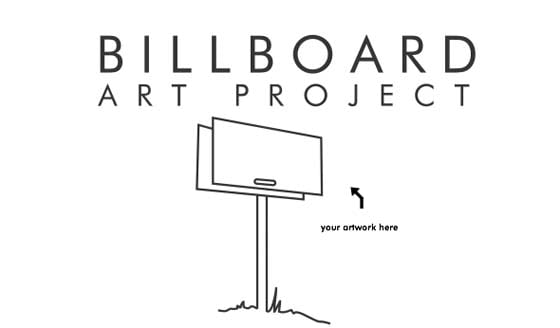 The Billboard Art Project will open on Monday, July 2