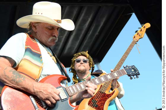 Dickie Betts and Pedro Arevalo