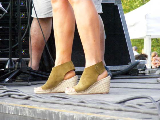 Parade of Shoes: Patty Smyth @ Alive at Five