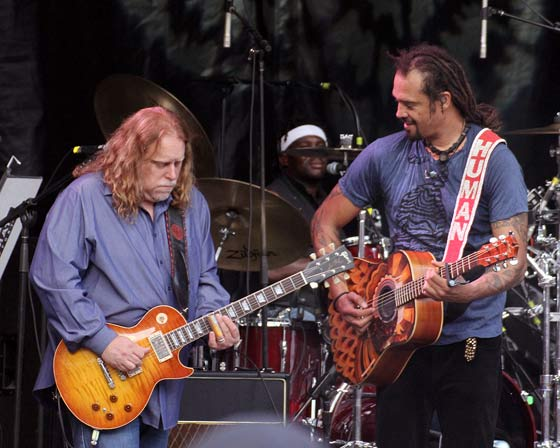 Warren Haynes and Michael Franti