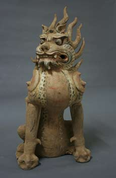 Zhenmushou (Demon-Quelling Beasts), (Tang Dynasty, 618-906 CE)