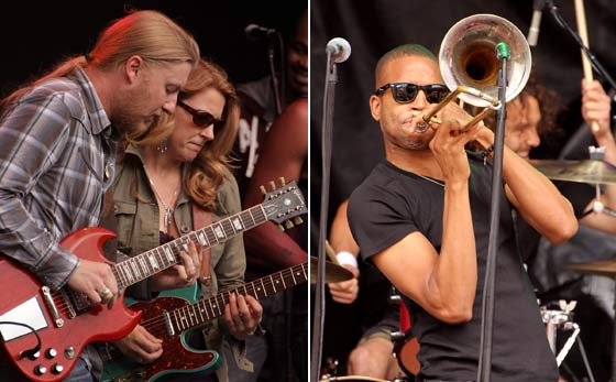 Tedeschi Trucks Band and Trombone Shorty