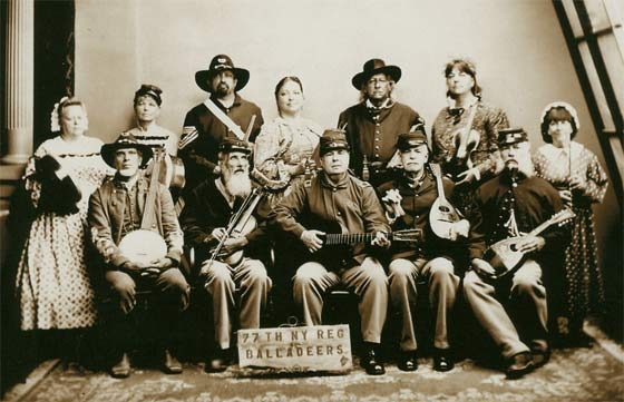 The 77th New York Regimental Balladeers