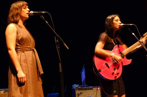 Heather Woods Broderick and Sharon Van Etten